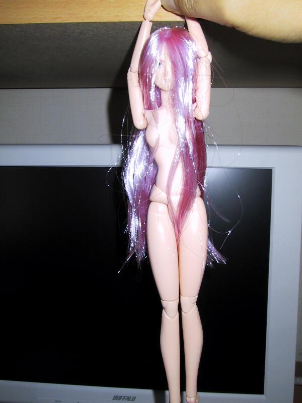 試作「流璃子型」人形