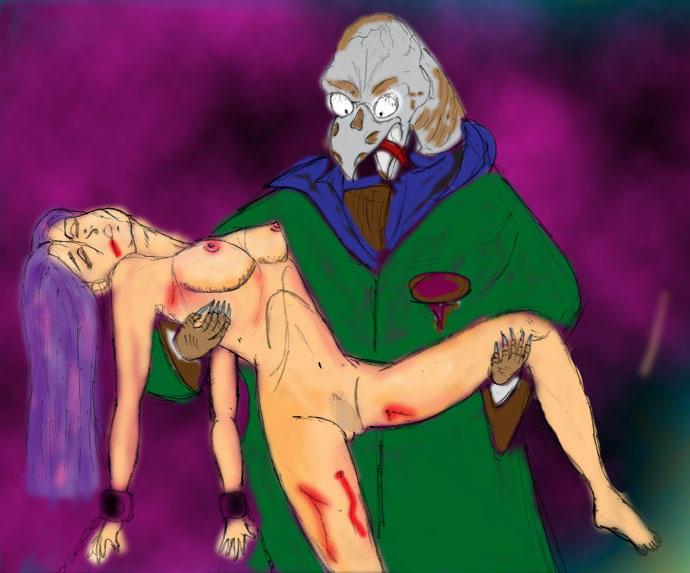 自作の練習ダメ画像2003年3月22日のカラー版